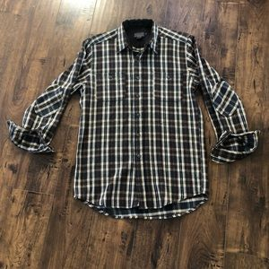 Pendleton Thomas Kay Plaid Patch Elbows